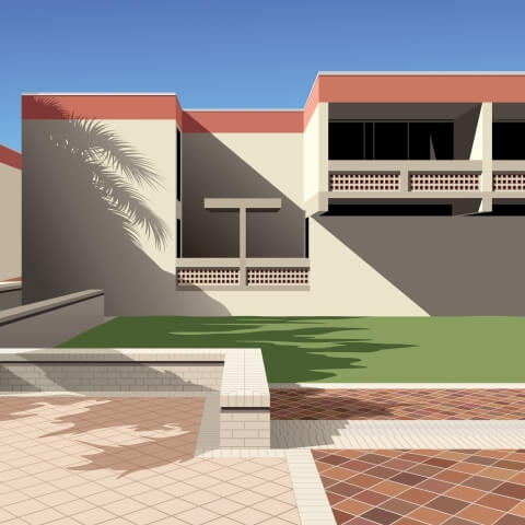 I.M. Pei New College Florida Dorms
